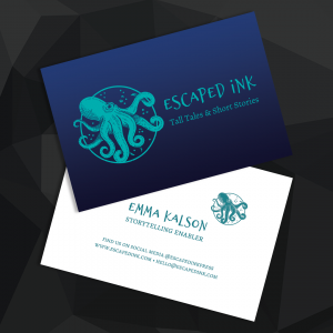 Escaped Ink Business Cards and Branding