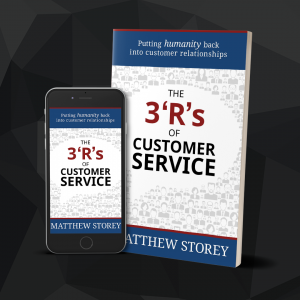 Book: The 3 'R's of Customer Service by Matthew Storey